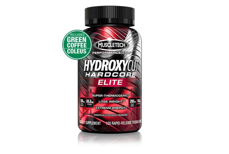 HYDROXYCUT HARDCORE 110cap هیدروکسی ELITE