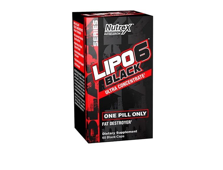 مکمل لیپو 6 مشکی - LIPO 6 BLACK 60cap NUTREX