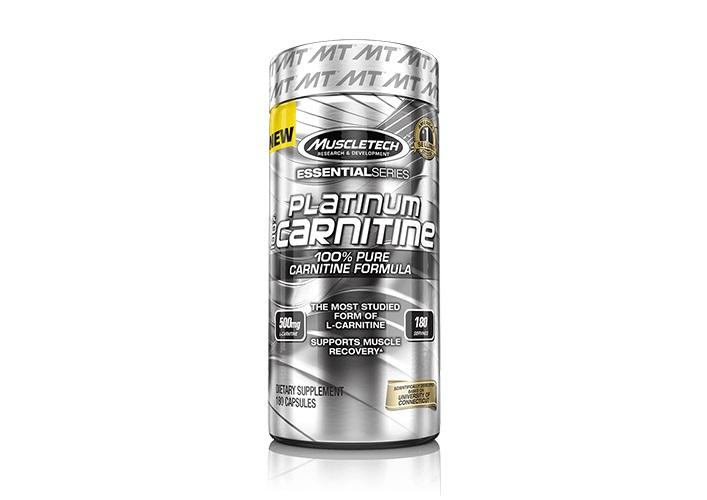 ال کارنیتین  MuscleTech L-CARNITINE 180Cap-PLATINUM