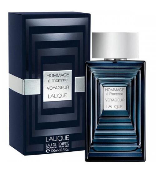 عطر ادکلن  مردانه لالیک هومیج الهوم وویاژ Lalique Hommage a l'homme Voyageur