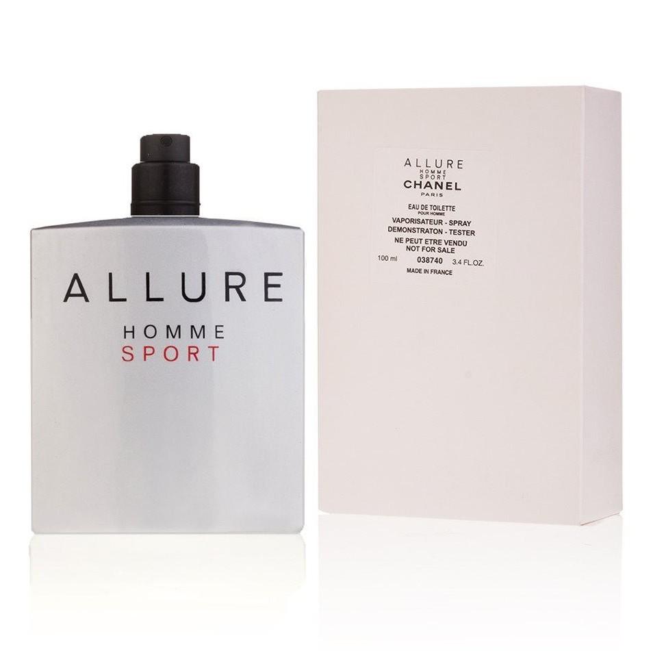 تستر اورجینال شانل الور هوم اسپرت Allure Homme Sport Chanel