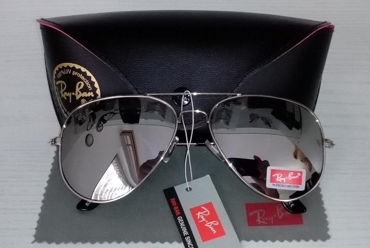 اطلاعات کلی عینک آفتابی خلبانی ری بن Rayban دارای استاندارد UV400 تضمینی 100%