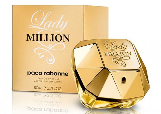 عطر ادکلن زنانه پاکو رابان لیدی میلیون Paco Rabanne Lady Million