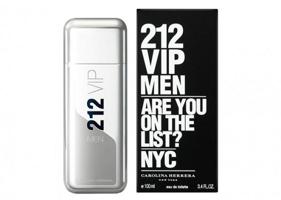 عطر ادکلن مردانه کارولینا هررا ۲۱۲ وی آی پی Carolina Herrera 212 VIP Men