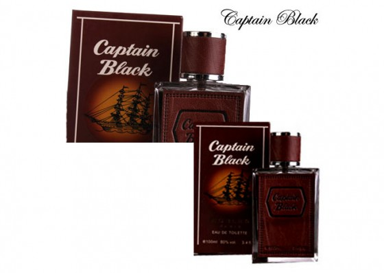 عطر ادکلن مردانه و زنانه کاپیتان بلک نوبل Captain Black Noble's