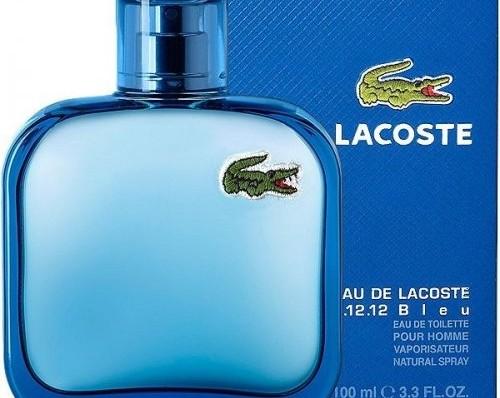 ادکلن مردانه لاگوست ال.۱۲.۱۲ بلو Lacoste L.12.12 Bleu